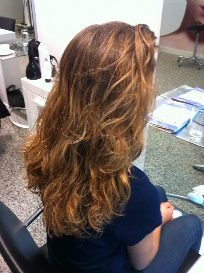 Haarkleuring Balleyage